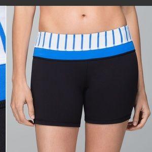 lululemon reverse groove shorts